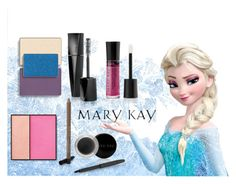 Elsa Mary Kay Color by taylormarie213 on Polyvore featuring polyvore, beauty and Mary Kay