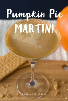 Is pumpkin pie your favorite dessert? It's time to make it one of your favorite holiday With the addition of rum and vodka, this is the ultimate fall upgrade on the classic Martini! Thanksgiving Cocktails, Thanksgiving Side Dishes, Thanksgiving Recipes, Fall Recipes, Holiday Cocktails, Holiday Recipes, Cider Cocktails, Thanksgiving 2017, Halloween Cocktails