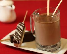 Hot Chocolate on a stick. ahh! christmas food gift idea?