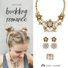 Fall in love with the whole Summer collection, blooming now on my boutique!  http://www.chloeandisabel.com/boutique/alicianocella