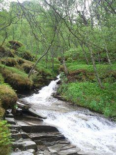 Glacial stream in Ulfsfjord  #water #glacial #stream #ulfsfjord