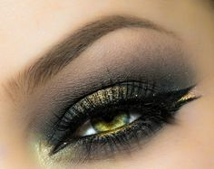 makeup smokey eyes f r braune augen mode eye shadow. Black Bedroom Furniture Sets. Home Design Ideas