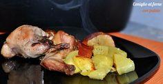 Il coniglio al forno con patate è una ricetta di facile realizzazione, gustosa e non troppo impegnativa. La carne del coniglio fa parte delle carni magre