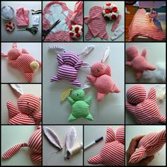 Chez Beeper Bebe: Tutorial and Pattern: Recycled Mooshy Belly Bunny