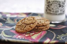 The Comforts of Home: The Best Molasses Sugar Cookie Ever!