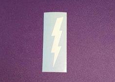 Lightning Bolt Decal - #171 by DesignsByLaurieann on Etsy