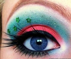 DIY Halloween Makeup : Coral Reefs