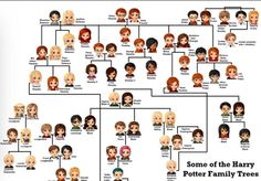 Harry Potter Family Tree Weasley 37 Ideas For 2019 Harry James Potter, Harry Potter Fan Art, Harry Potter Family Tree, Rowling Harry Potter, Harry Potter Characters, Harry Potter Universal, Harry Potter Memes, Harry Potter World, Weasley Family Tree