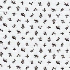 Cloud 9 Maman Motif Brun Organic Cotton by MakeTheWorldPrettier, $16.50