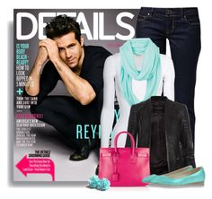 """""""Ryan Reynolds"""" by ameve ❤ liked on Polyvore featuring GUESS, American Vintage, dELiA*s, AllSaints, Yves Saint Laurent, Anniel and RyanReynolds"""