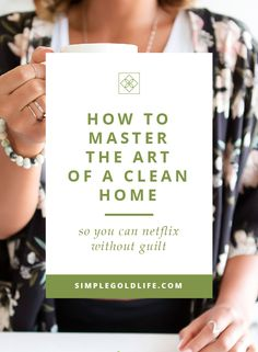 We just arrived home a few days ago, and I was so relieved when we walked in the door, and it was clean. Sheets washed, laundry done, counters empty. It was like stepping into a spa, all that was missing was the smell of eucalyptus. Want to Master the Art of a Clean Home? Read more at SimpleGoldLife.com