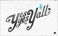 Yes yes, y'all. and ya don't stop! Typography Letters, Typography Design, Hand Lettering, Typo Design, Vintage Typography, Hip Hop And R&b, Love N Hip Hop, A Tribe Called Quest, Grunge