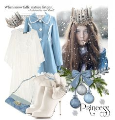 """~*~ Snow Princess ~*~"" by artsychick75 ❤ liked on Polyvore"