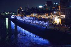 Tanabata Festival at Kamogawa River (Kyoto) / 京の七夕(鴨川・京都)