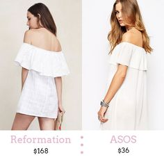 Off the Shoulder Dress... for less!