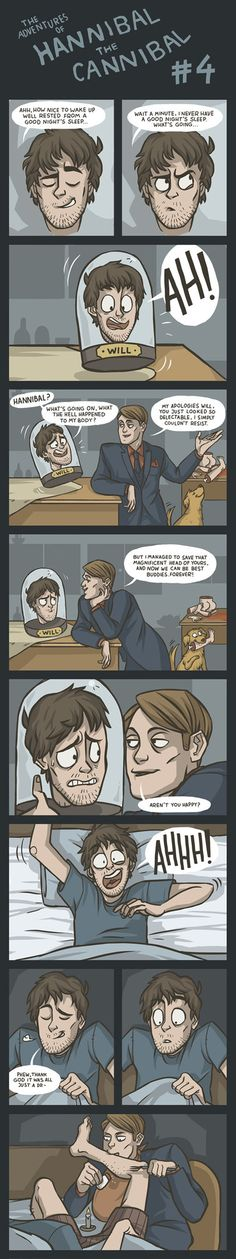 (Comic) The Adventures of Hannibal the Cannibal #4 by ekzotik on deviantART