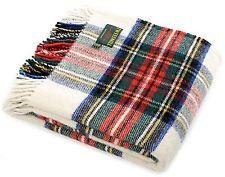 Dress Stewart tartan picnic blanket - Pure new wool - Tweedmill