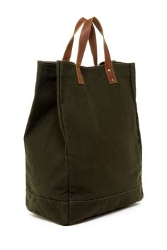 Canvas Bucket Tote