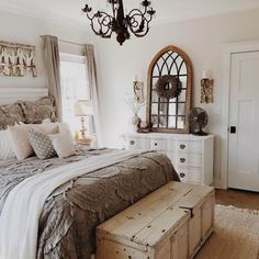 Farmhouse Simple Bed