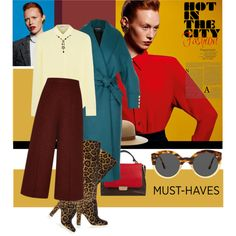 A fashion look from September 2015 featuring T By Alexander Wang blouses, Balmain coats and Proenza Schouler capris. Browse and shop related looks.