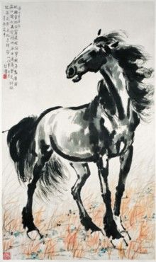 chinese ink horse - Google Search