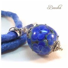 Ein persönlicher Favorit aus meinem Etsy-Shop https://www.etsy.com/de/listing/450546634/glittery-necklace-handmade-lampwork