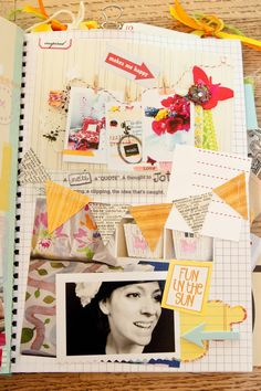 Share Your SMASH Book Pages - Craft Warehouse Community - amazing Smashbook pages.