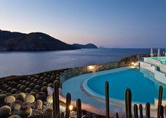 """Therasia Resort Sea and Spa, Vulcano Island, Italy"" 10 Swoon-Worthy Infinity Pools"