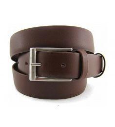 Cinturón caballero tubular en piel napa Cinturones Hombre 3bca6290c51