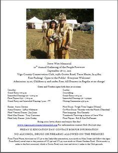 Steve Witt Memorial 20th Annual Gathering of the People Powwow