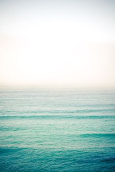 Ocean. Not beach. Ocean.