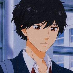 Hot Anime Boy, Cute Anime Guys, Anime Boys, Anime Films, Anime Characters, Ao Haru Ride Kou, Tanaka Kou, Futaba Y Kou, Manhwa