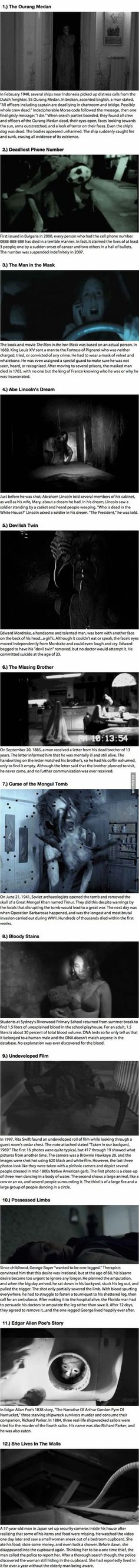 You are soon going to regret reading these 12 Creepy Stories!: