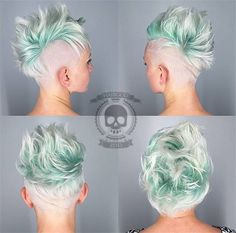 Long pixie hairstyles are a beautiful way to wear short hair. Many celebrities are now sporting this trend, as the perfect pixie look can be glamorous, elegant and sophisticated. Here we share the best hair styles and how these styles work. Very Short Pixie Cuts, Short Pixie Haircuts, Short Hair With Layers, Short Hair Cuts, Long Pixie, Short Hair Mohawk, Mohawk Hairstyles, Layered Hairstyles, Pixie Mohawk