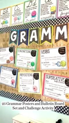 Grammar Posters, Grammar Worksheets, Teaching 5th Grade, Teaching Grammar, Grammar Bulletin Boards, Upper Elementary Resources, References Page, Class Decoration, Math Lessons