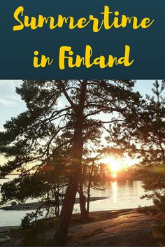 Our Summer in Finland - hiking from Porvoo to Turku, a long distance hike of 400 km