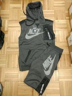 New (never used), Two-piece Nike summer suit! Raw with the short sleeves, the hoodie and the pockets I have 1 size left XL It is white lettering also with black White letters and black. Make an offer! Cute Nike Outfits, Dope Outfits For Guys, Swag Outfits Men, Sporty Outfits, Hype Clothing, Mens Clothing Styles, Fashion Wear, Fashion Pants, Nike Clothes Mens