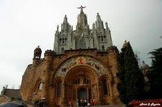 Temple Expiatori Del Sagrat Cor on Mount Tibidabo