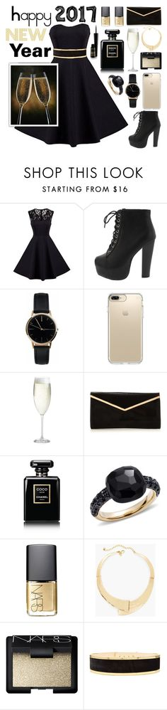 """""""Untitled #81"""" by beataludmova ❤ liked on Polyvore featuring Freedom To Exist, Speck, Crate and Barrel, Chanel, Pomellato, NARS Cosmetics, Chico's and Balmain"""