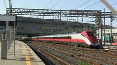 ETR 500 n.56 a Roma Tiburtina - ETR 500 n.56 in Roma Tiburtina