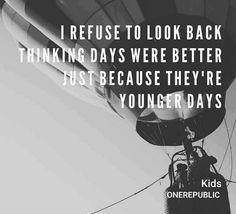 """Kids"" -OneRepublic.....Loooooove this song"