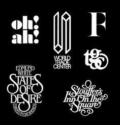 Risultati immagini per Herb Lubalin Calligraphy Letters, Typography Letters, Typography Poster, Graphic Design Typography, Logo Design, Design Web, Type Design, Laurent Durieux, Geometric Font