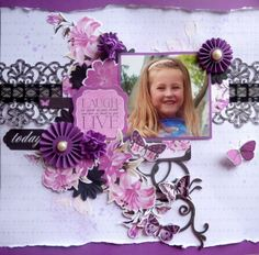 It's that eagerly awaited time of year where Kaisercraft announce their Design Team Callout - so welcome to my Kaisercraft De. Scrapbook Layouts, Scrapbooking Ideas, General Crafts, Collagen, Creative, Craft Ideas, Inspiration, Space, Girls