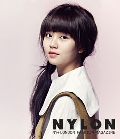 Kim So Hyun Nylon Korea January - I Hear Your Voice & I Miss You