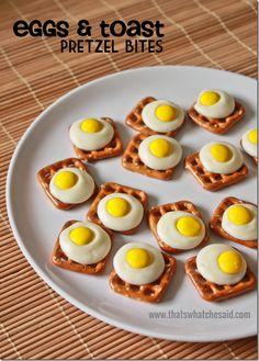 Eggs & Toast Pretzel