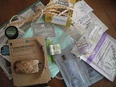 Eco Emi. A monthly subscription for eco-friendly products.