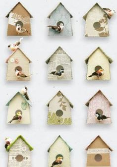 Wallpaper Birdhouse by BODIE and FOU