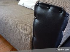 After - Repaired Sofa