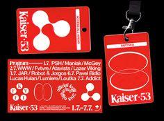 "jmocek: ""Visual style for Kaiser 53 / official pop up club of International Film Festival Karlovy Vary 2018 "" Instagram Display, Art Book Fair, Museum Of Contemporary Art, Tumblr, Type Setting, International Film Festival, Visual Identity, Identity Design, Inventions"