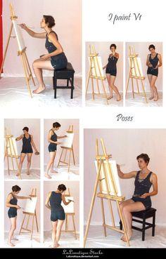 STOCK - I paint V1 by LaLunatique on deviantART